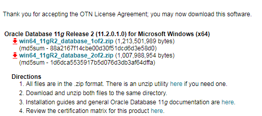 How to download Oracle 11g & 12c