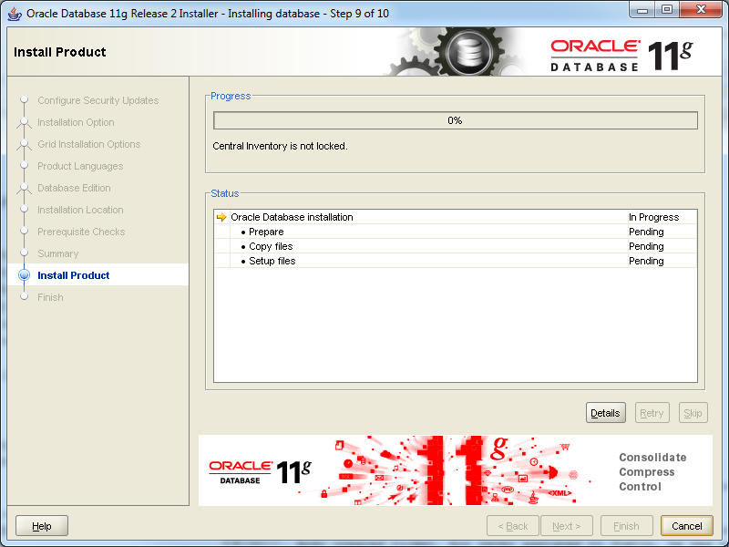 how to download oracle 11g